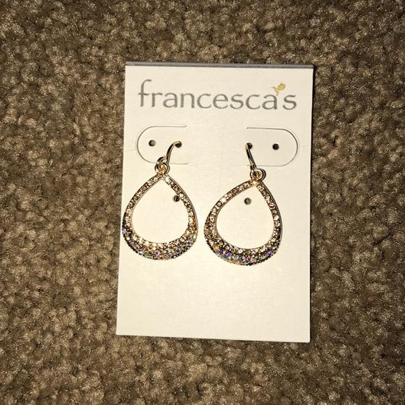 70e3a28fe9247 Francesca's Hoop Earrings